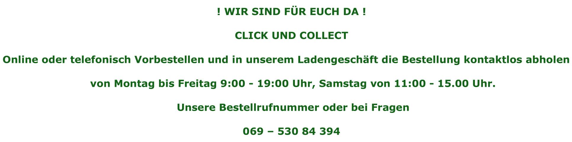 Click und Collect